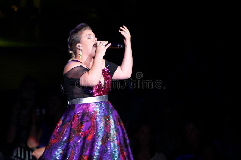 Kelly Clarkson fotografia stock