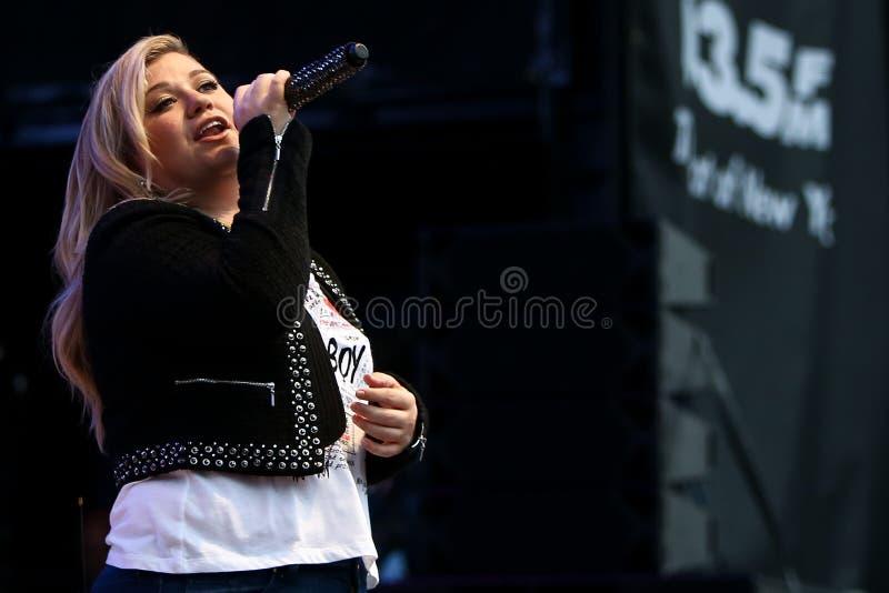 Kelly Clarkson obraz stock