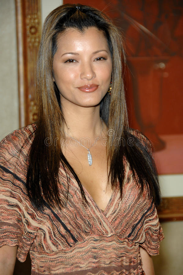 Download Kelly Hu editorial stock image. Image of january, show - 24289799