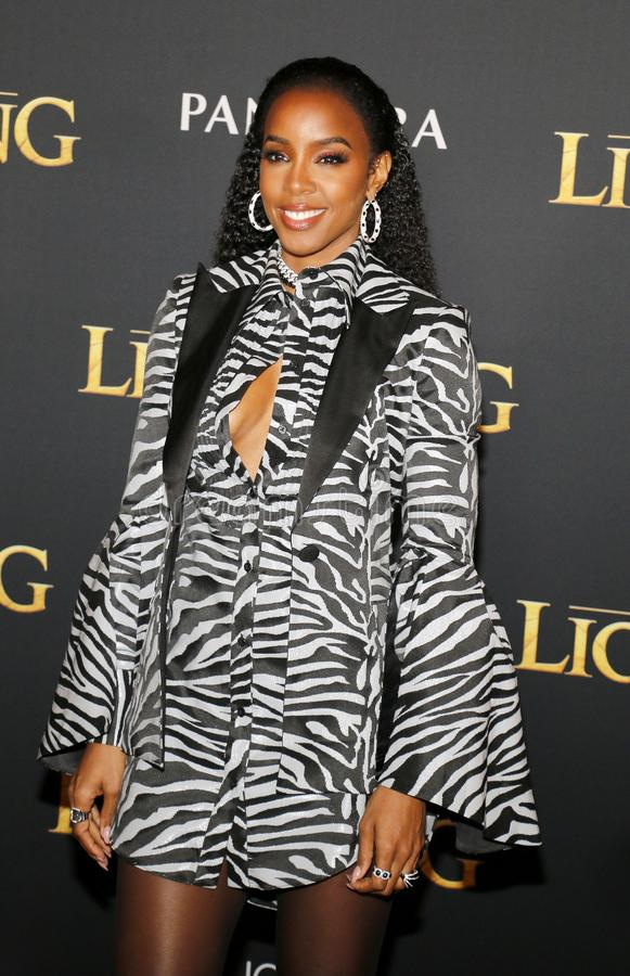 Kelly Rowland photographie stock