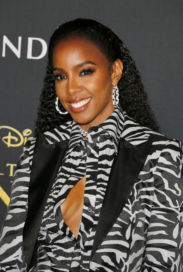 Kelly Rowland image libre de droits