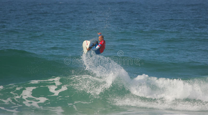 Kelly Slater photographie stock libre de droits
