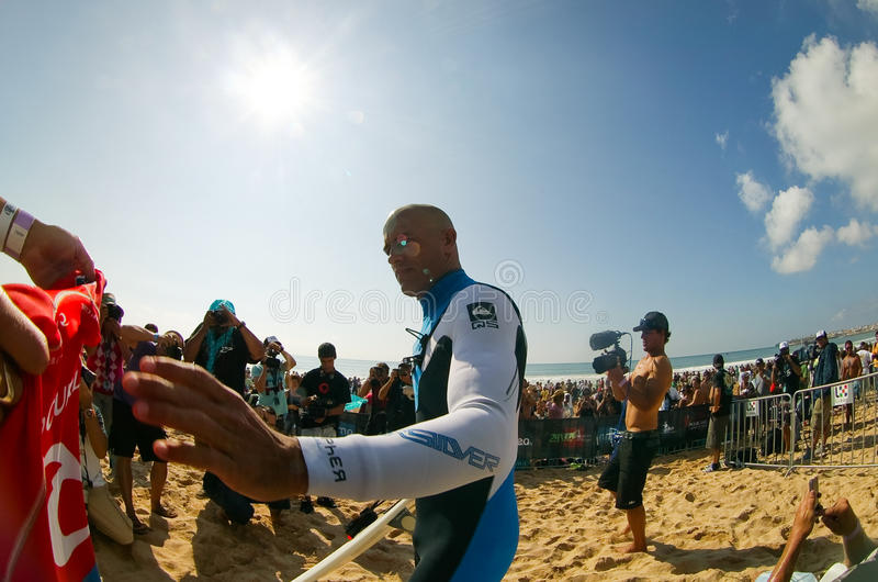 Kelly Slater photo libre de droits