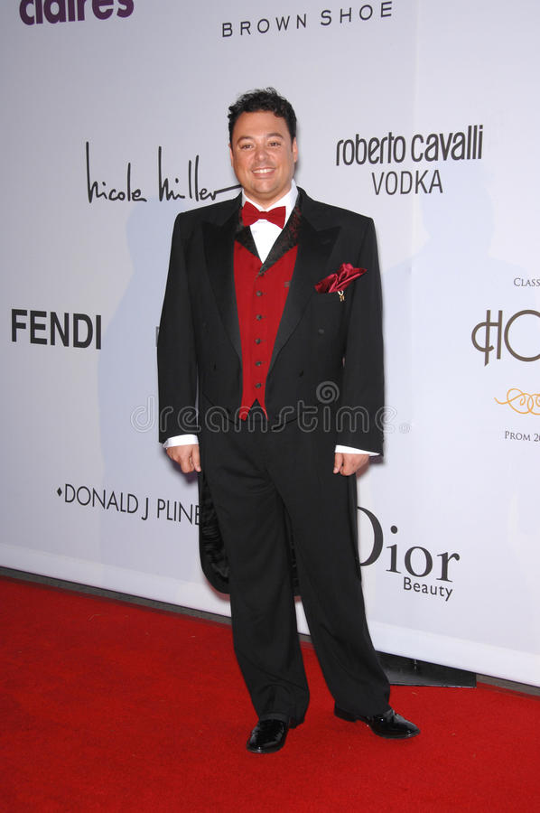 Kelly Stone. Carlos De Antonis at the first annual Class of Hope Prom 2007 charity gala at the Sportsmen's Lodge, Studio City. The event benefitted Planet Hope royalty free stock images