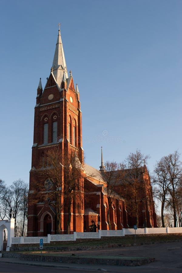 Kelme kyrka royaltyfri bild