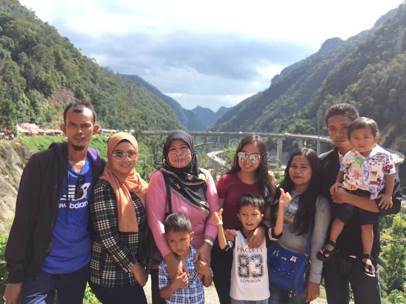 Kelok paya sambilan kumbuh od Indonesia, zdjęcie royalty free
