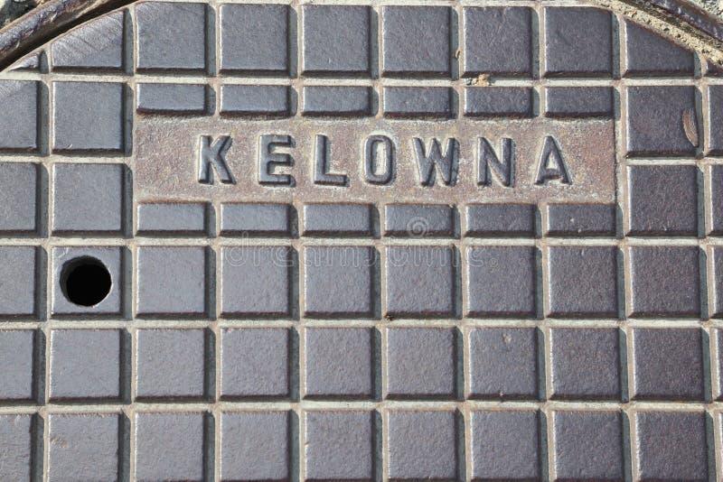 Yaletown loft art-Kelowna billboard art for concrete buildings stock image