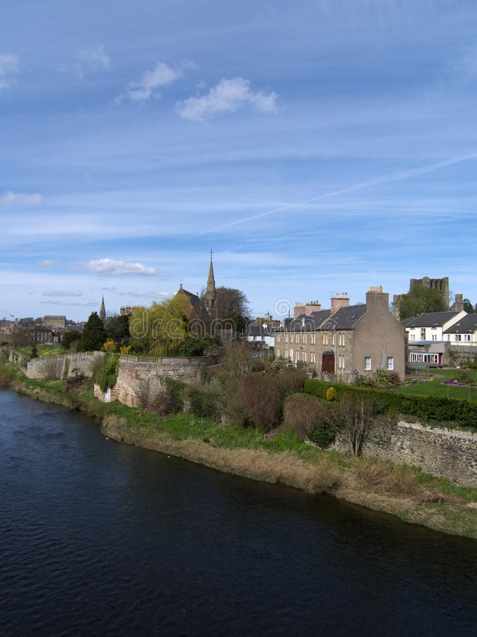 Download Kelso, Borders County Scotland Stock Image - Image: 13000009