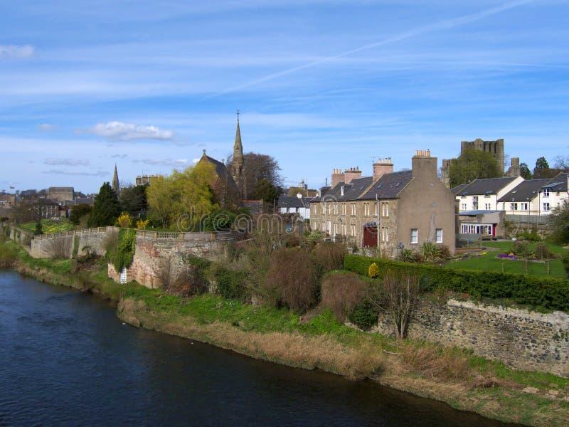 Kelso, Rand-Grafschaft Schottland lizenzfreie stockfotografie