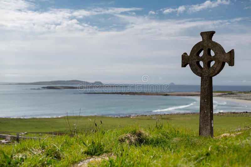 Keltisch Kruis stock foto