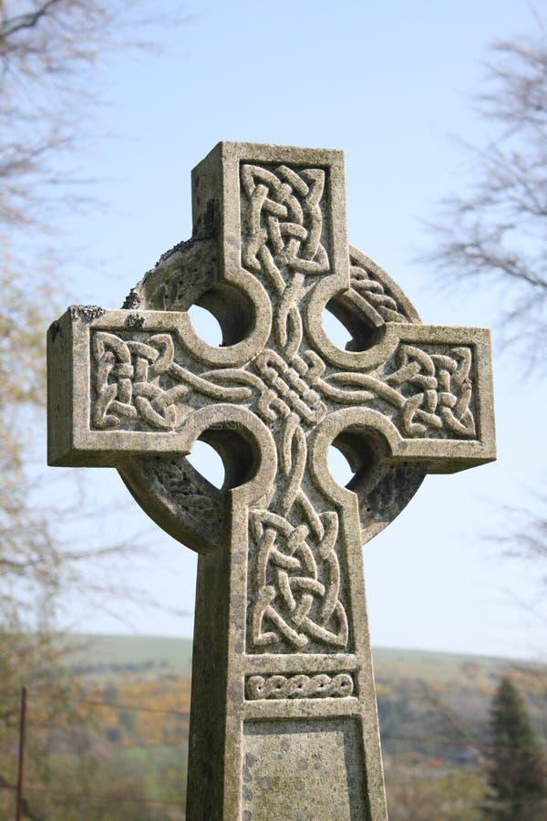 Keltisch kruis stock afbeelding