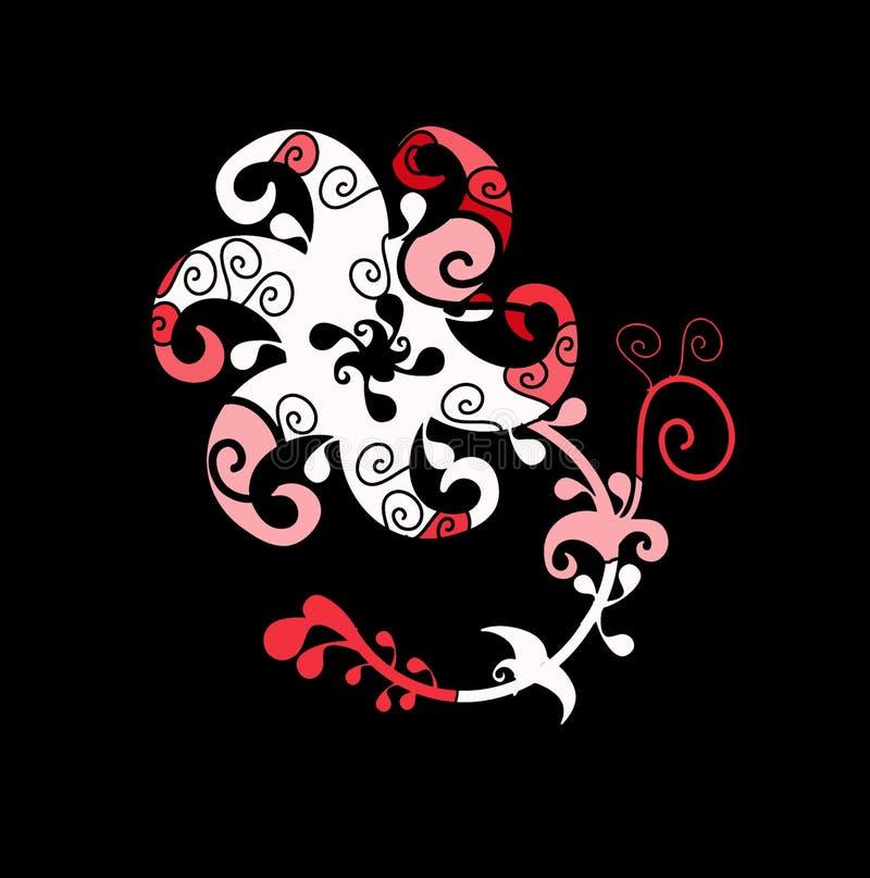 Keltische bloem stock illustratie