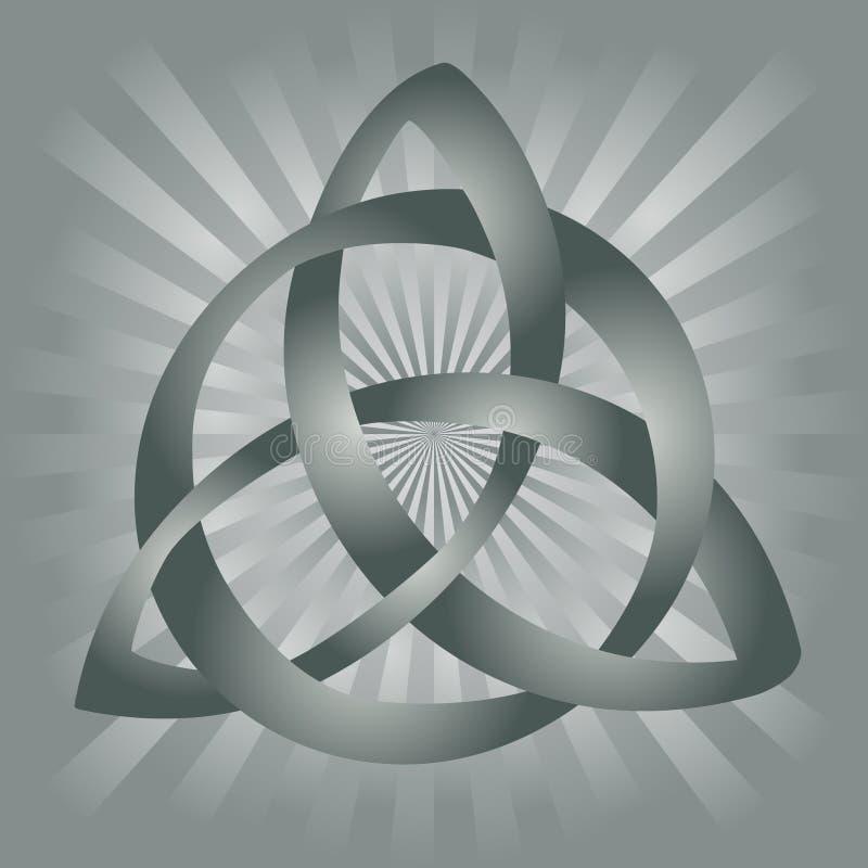 Keltische Knoop royalty-vrije illustratie