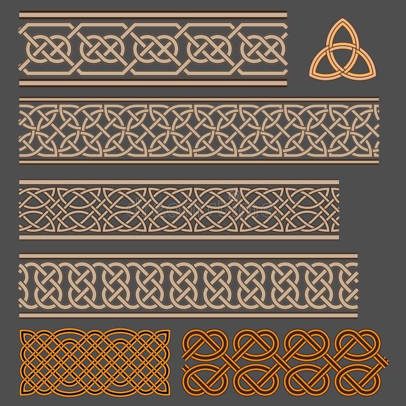 Keltische knopen royalty-vrije illustratie