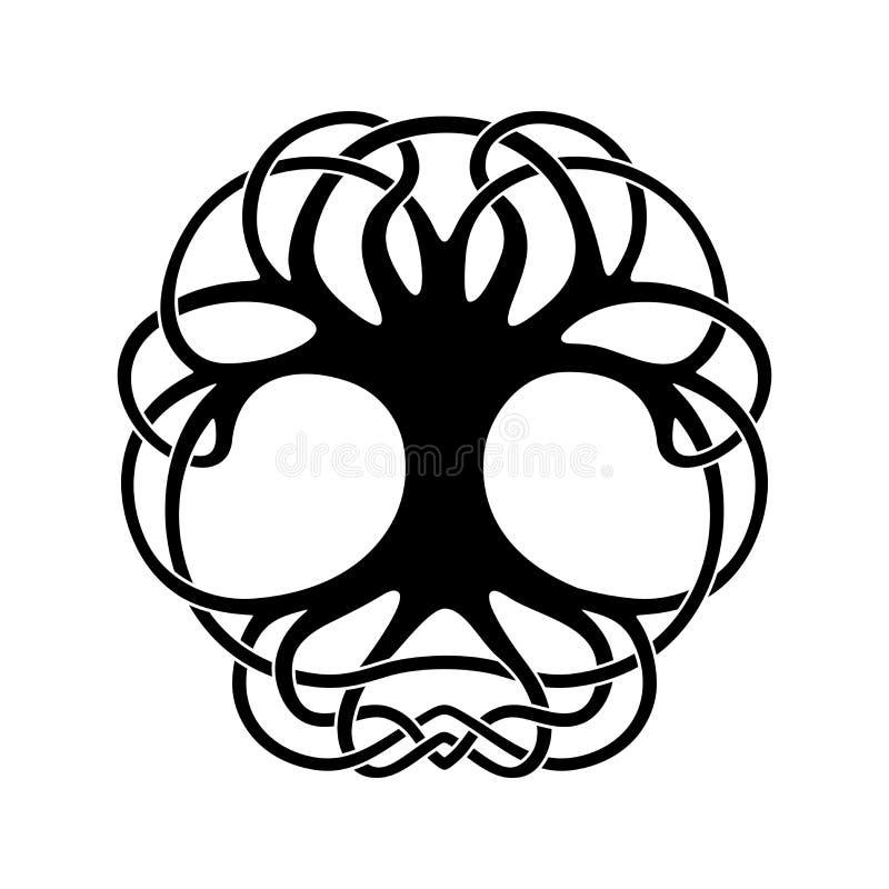 Keltische nationale ornamenten stock illustratie