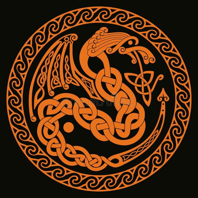 Keltische nationale Verzierungen vektor abbildung