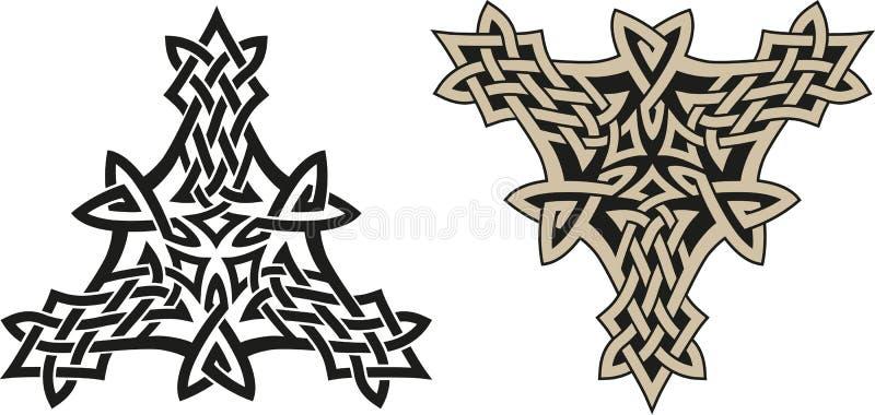 Keltische triskell vector illustratie