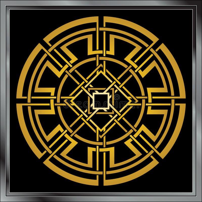 Download Keltische Verzierung vektor abbildung. Illustration von auszug - 9098044