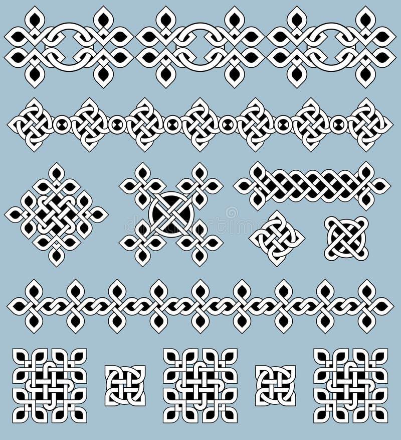 Keltische Verzierungen vektor abbildung