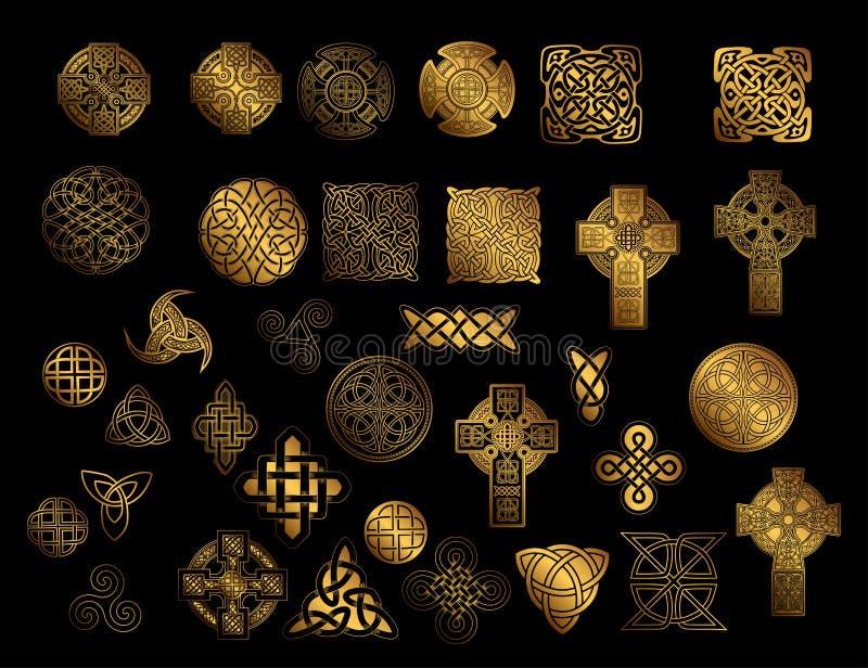 Keltische Volksverzierung vektor abbildung
