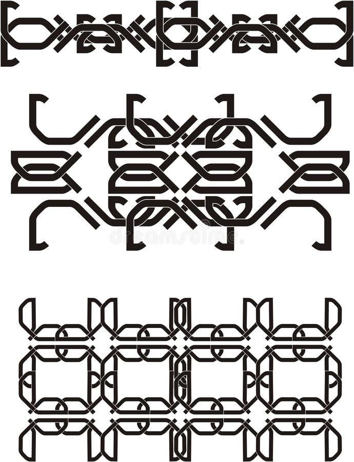 Keltischer Knoten lizenzfreie abbildung