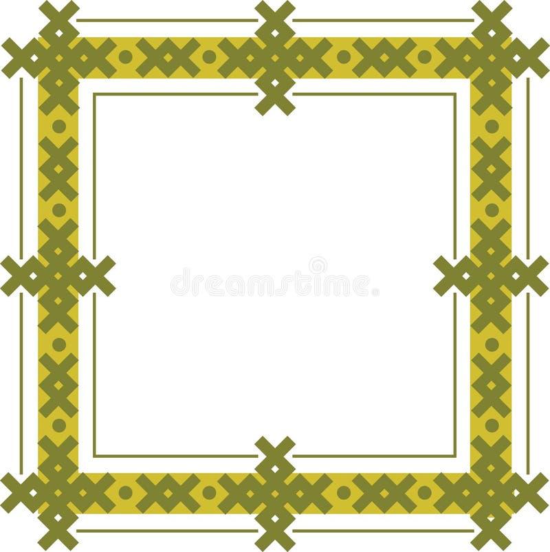 Keltischer Rahmen lizenzfreie abbildung