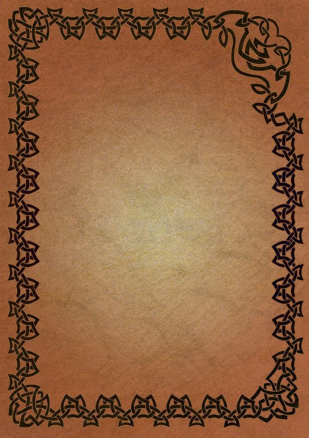 Keltisches Feld - Schwarzes vektor abbildung