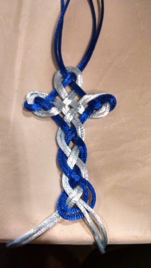 Keltisches Kreuz lizenzfreie stockfotos