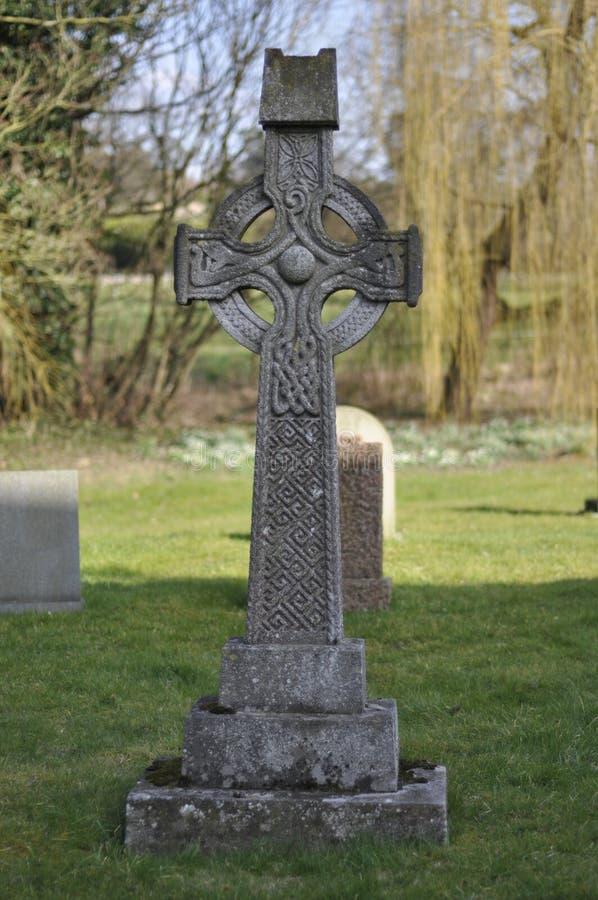 Keltisches Kreuz stockfotografie