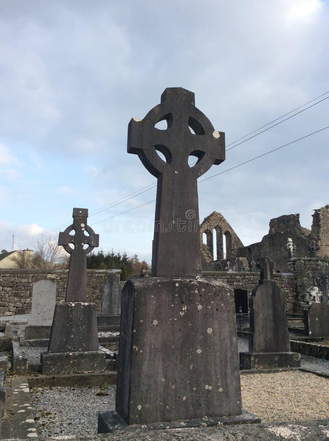 Keltisches Kreuz stockfoto