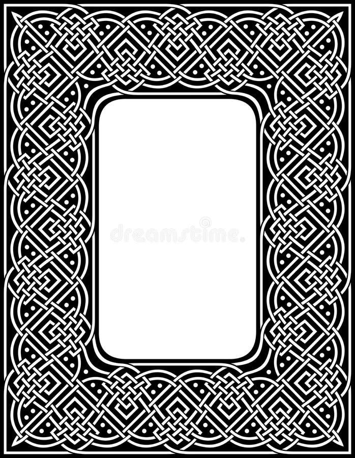Keltisk gräns vektor illustrationer