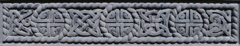 Keltisk modell royaltyfri foto