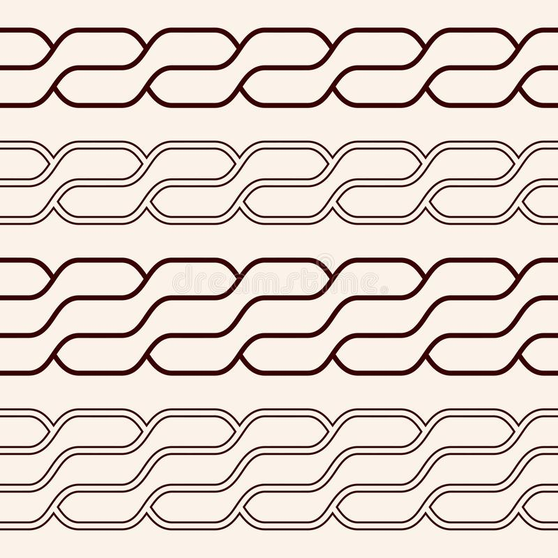 Keltisk nationell prydnad vektor illustrationer