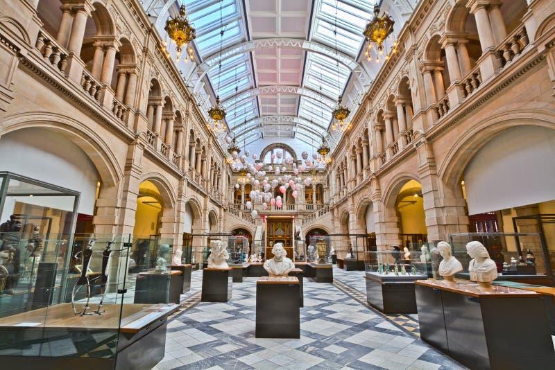 Художественная галерея и музей Kelvingrove стоковая фотография rf