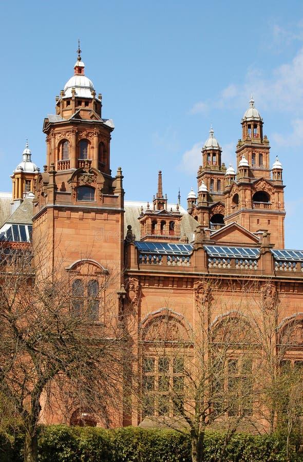 Kelvingrove Art Gallery. Glasgow stock images