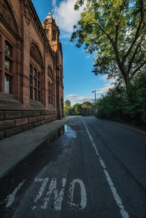 Kelvingrove Art Gallery e museo, Glasgow, Regno Unito fotografia stock