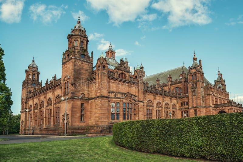 Kelvingrove Art Gallery e museo, Glasgow, Regno Unito immagini stock