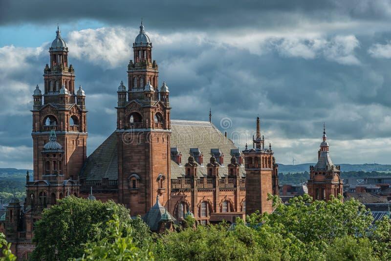 Kelvingrove Art Gallery et musée, Glasgow, R-U photo libre de droits