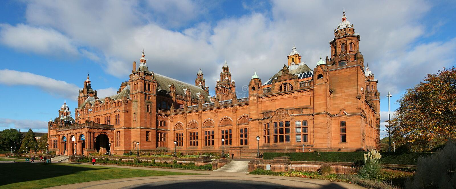Kelvingrove Art Gallery and Museum. The Kelvingrove Art Gallery and Museum is a museum and art gallery in Glasgow, Scotland. The building houses one of Europes stock photo