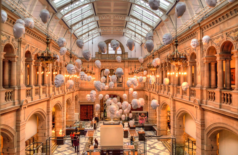 the kelvingrove art gallery and museum glasgow scotland editorial photo image of travel. Black Bedroom Furniture Sets. Home Design Ideas