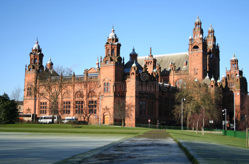 Download Kelvingrove Museum Glasgow stock photo. Image of towers - 1891776