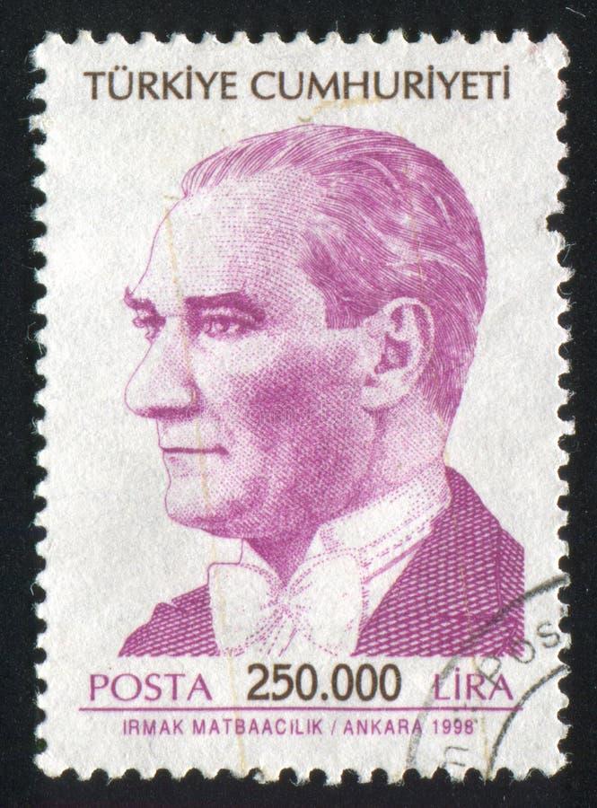 Kemal Ataturk royalty-vrije stock afbeeldingen