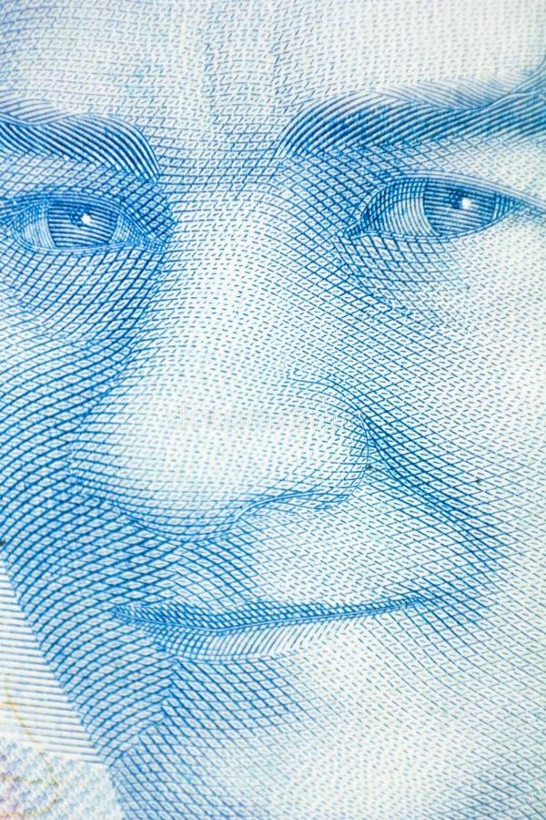 kemal ataturk mustafa Turecka pieniądze waluta zamknięta w górę fotografia stock
