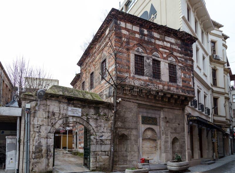 Kemankes Kara Mustafa Pasa Mosque Camii, Karakoy, Istambul, Turquia fotos de stock royalty free