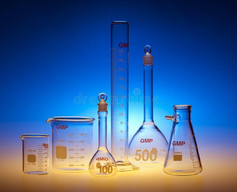Kemisk Glasföremål Royaltyfri Fotografi