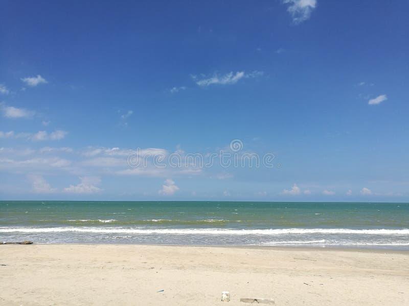 kempadang海滩 免版税图库摄影
