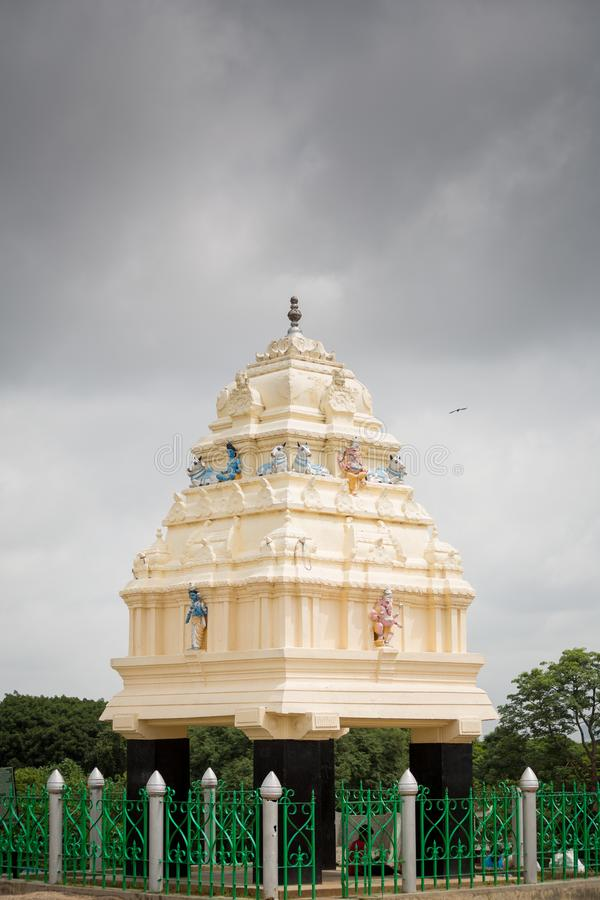 Kempegowda塔,班加罗尔,印度 图库摄影