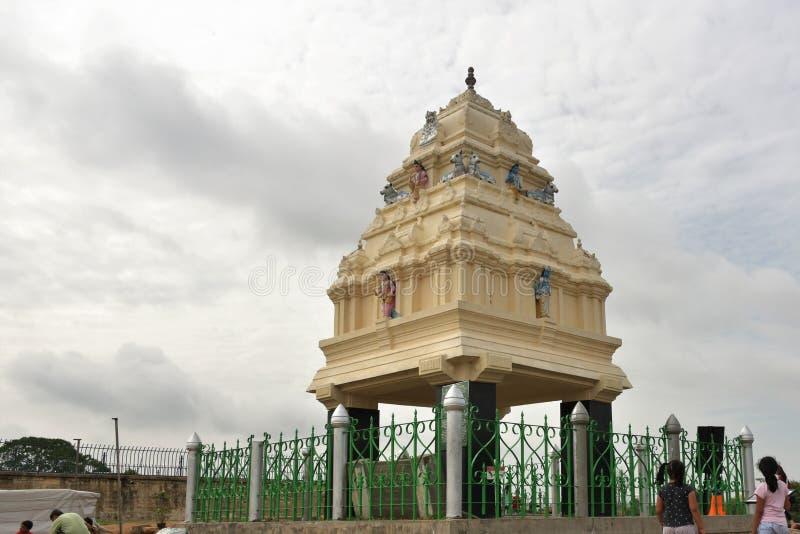 Kempegowda tower, Lal Bagh, Bangalore, Karnataka. Kempegowda tower view, Lal Bagh, Bangalore, Karnataka, India royalty free stock photos