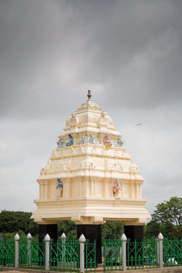 Kempegowda-Turm, Bangalore, Indien stockfotografie
