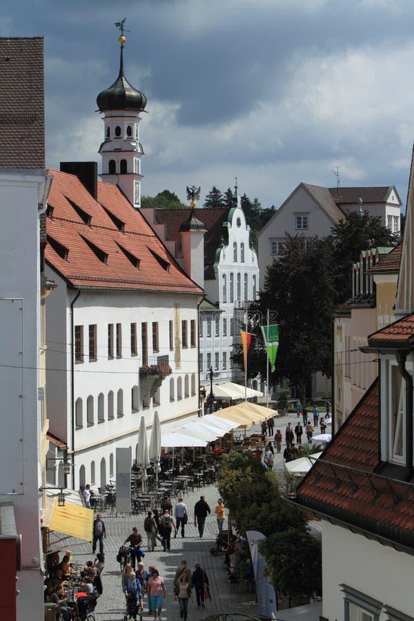 Kempten in Duitsland royalty-vrije stock foto